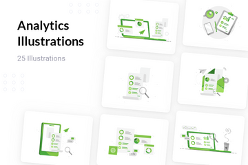 Analytics Illustration Pack