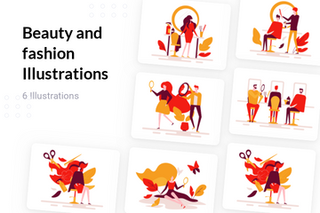Beauty And Fashion Illustration Pack