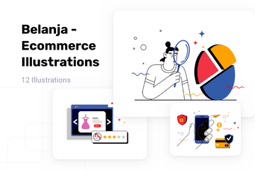 Belanja - Ecommerce Illustration Pack