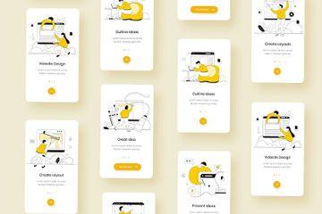 Building Website Illustration Pack