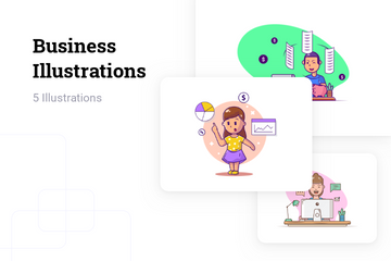 Business Illustration Pack