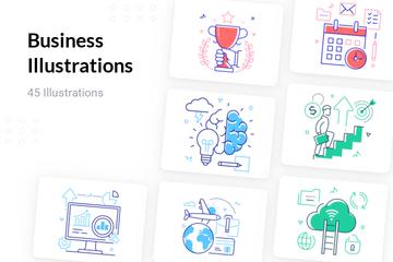Business Illustration Pack