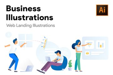 Business And Startup Illustration Pack