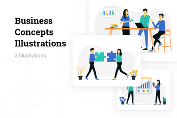 Business Concepts Illustration Pack