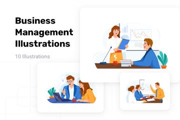 Business Management Illustration Pack