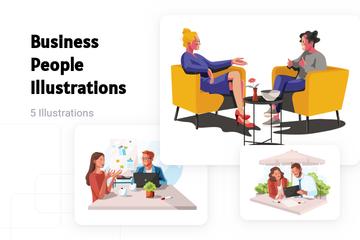 Business People Illustration Pack