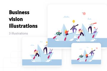 Business Vision Illustration Pack