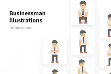 Businessman Illustration Pack