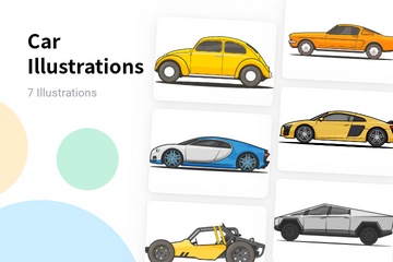 Car Illustration Pack