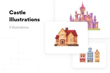 Castle Illustration Pack