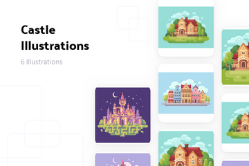 Castle Illustration Pack