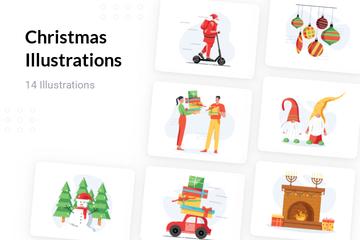 Christmas Illustration Pack