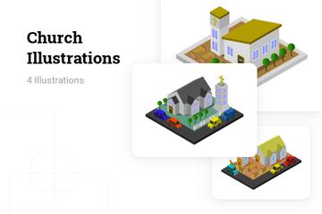 Church Illustration Pack