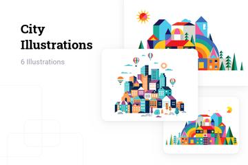 City Illustration Pack