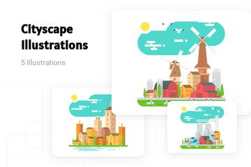 Cityscape Illustration Pack