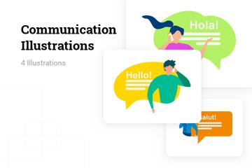 Communication Illustration Pack