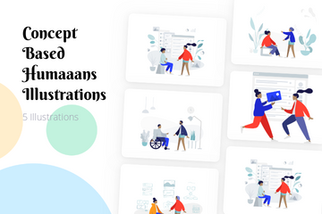 Concept Based Humaaans Illustration Pack