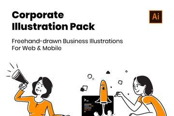 Corporate Illustration Pack Illustration Pack