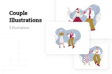 Couple Illustration Pack