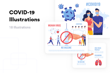 COVID-19 Illustration Pack