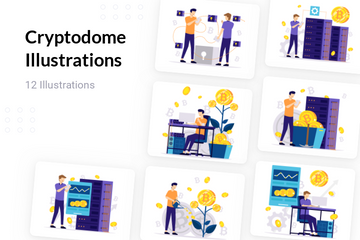 Cryptodome Illustration Pack