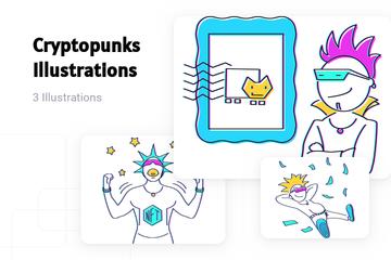 Cryptopunks Illustration Pack