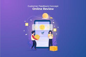 Customer Feedback Illustration Pack