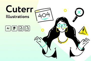 Cuterr Illustrations Illustration Pack