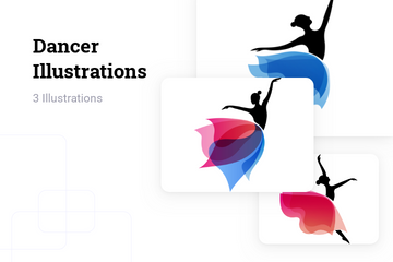 Dancer Illustration Pack