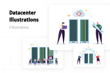 Datacenter Illustration Pack