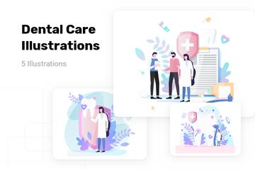 Dental Care Illustration Pack