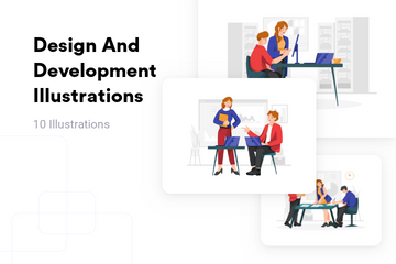 Design And Development Illustration Pack