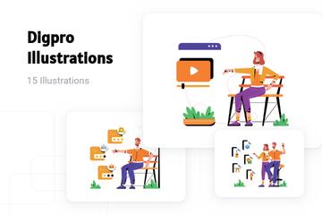 Digpro Illustration Pack