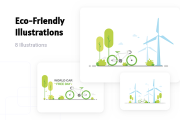 Eco-Friendly Illustration Pack