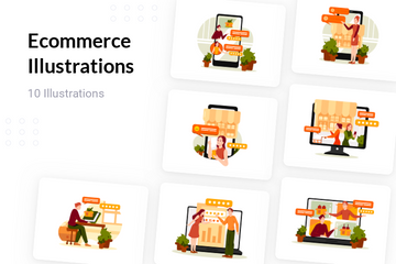 Ecommerce Illustration Pack