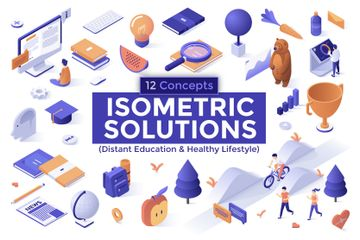 Education And Healthcare Illustration Pack