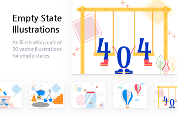 Empty State Illustration Pack