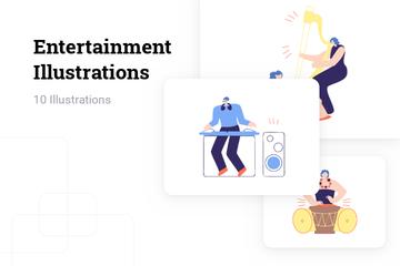 Entertainment Illustration Pack
