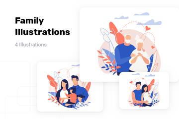 Family Illustration Pack