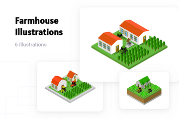 Farmhouse Illustration Pack