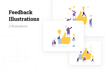 Feedback Illustration Pack