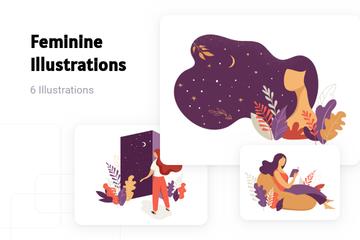 Feminine Illustration Pack