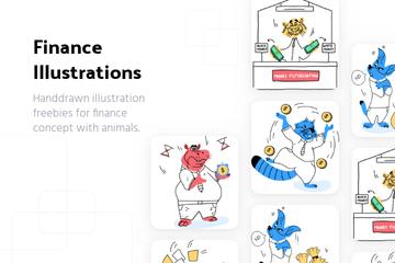 Finance Illustration Pack