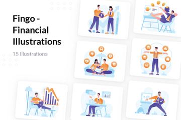 Fingo - Financial Illustration Pack
