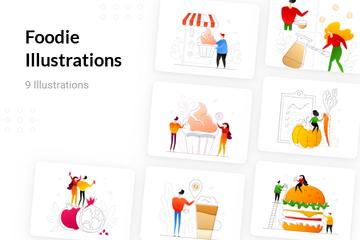 Foodie Illustration Pack