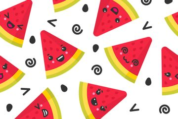 Fruit Seamless Patterns Illustration Pack