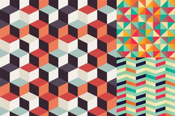 Geometric Patterns Illustration Pack