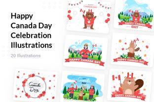 Happy Canada Day Celebration