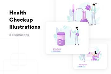 Health Checkup Illustration Pack