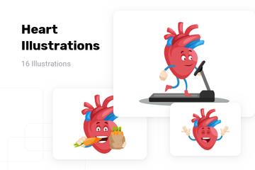 Heart Illustration Pack